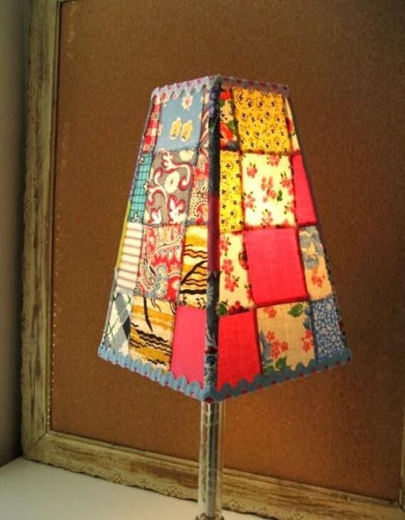 CrAzy Quilt Lampshade