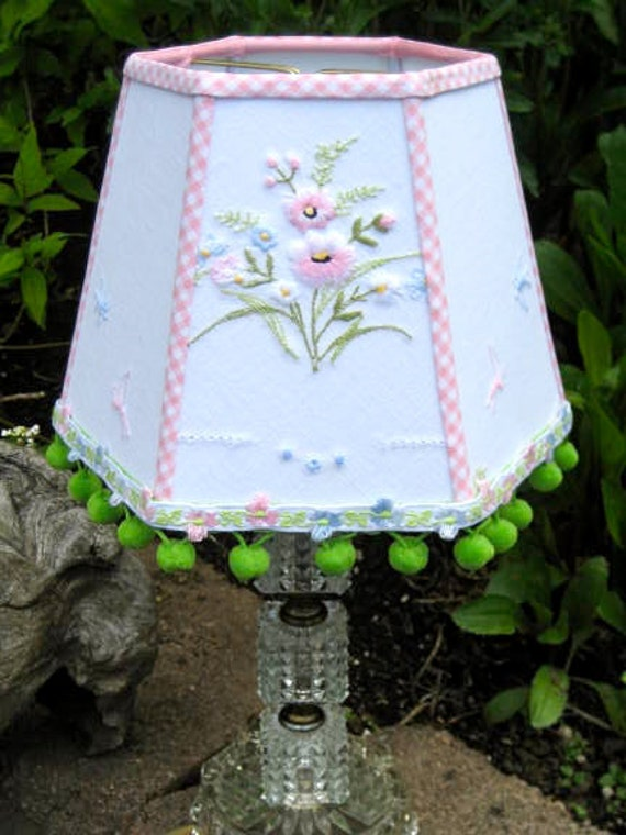 RESERVED for Dee - Miss Delightful Vintage Lampshade