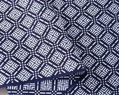 Vintage Japanese cotton fabric for yukata
