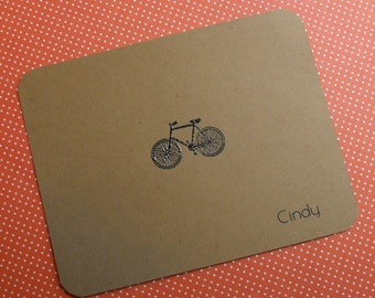 personalized bike note set