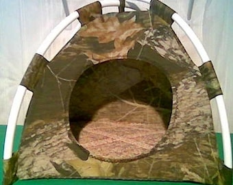 Large Pup Tent Pet Bed ( see multiple fabric choices #1 )  For Cats/Dogs/Ferrets/Piggies Or Used for a Toy Box/Barbie Doll House