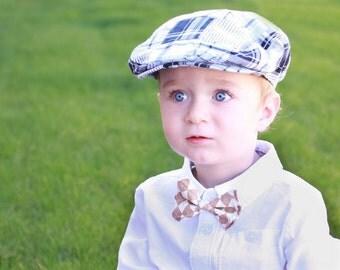 Boys Bow Tie - Argyle in Tan Bow Tie 6-12 - Bow Tie - Bow Ties Toddler - Newborn Bow Tie - Bowtie - Diamond Bow Tie - Tan Bow Tie