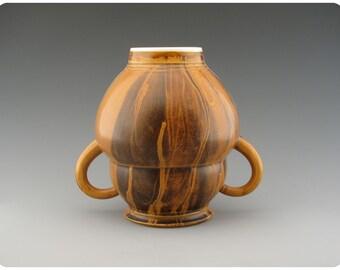 Venus of Willendorf Shaped Porcelain Vase  Ceramics Pottery