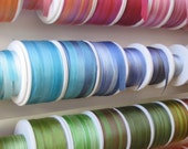 Your choice - 10 metres of 7mm variegated silk ribbon
