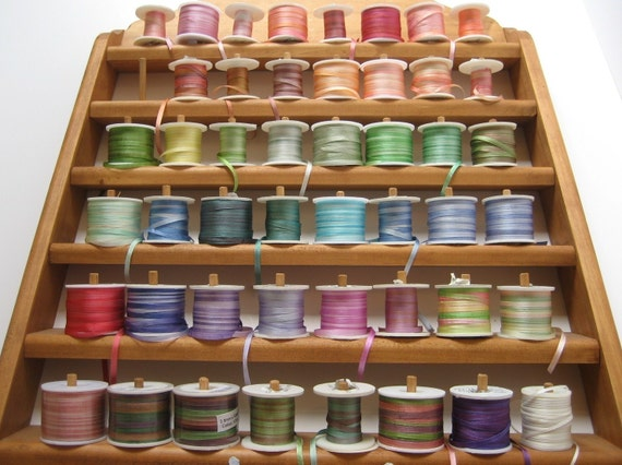 Your choice - 10 metres of 3.5mm variegated silk ribbon