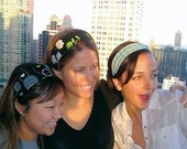 NEW Custom Headbands    GIRL FRIENDS IN THE CITY     ( 3 Pack )