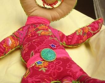 space rock cyclop doll in 60's uniform