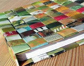 Woven Notebooks - in Green