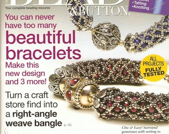 Bead & Button Magazine October 2008