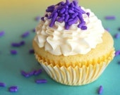 Lavender Classic Jimmies Sprinkles for your Cupcakes or Brownies (4 ounces) 1/4 pound