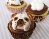 Puppy Dog Edible Cupcake Cake Decorations (10)