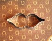 Mustache  Lips or Mardi Gras or Super Hero Mask Cookie Cutter