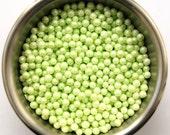 Lime green Sugar Pearls (2 ounces)