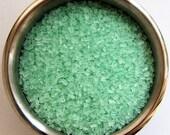 Mint Green Crystal Sugar (4 ounces)