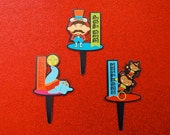 Big Top Circus Cupcake picks (12)