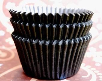 Classic Black Cupcake Liners (50)