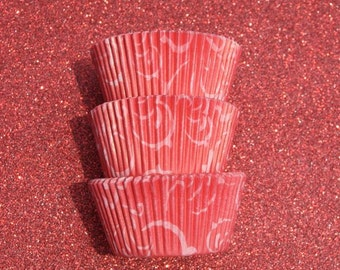 Red Arabisk Cupcake Liners (50)