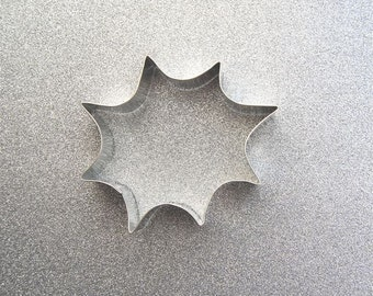 Spider web or Super Hero POW Cookie Cutter