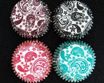 Paisley Cupcake Liners 40 per pack