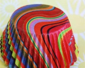 Mini Astrid Designer Cupcake Liners (40)