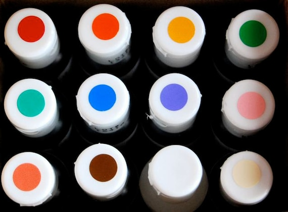 2 Americolor Gel Food coloring Kit 12 assorted colors