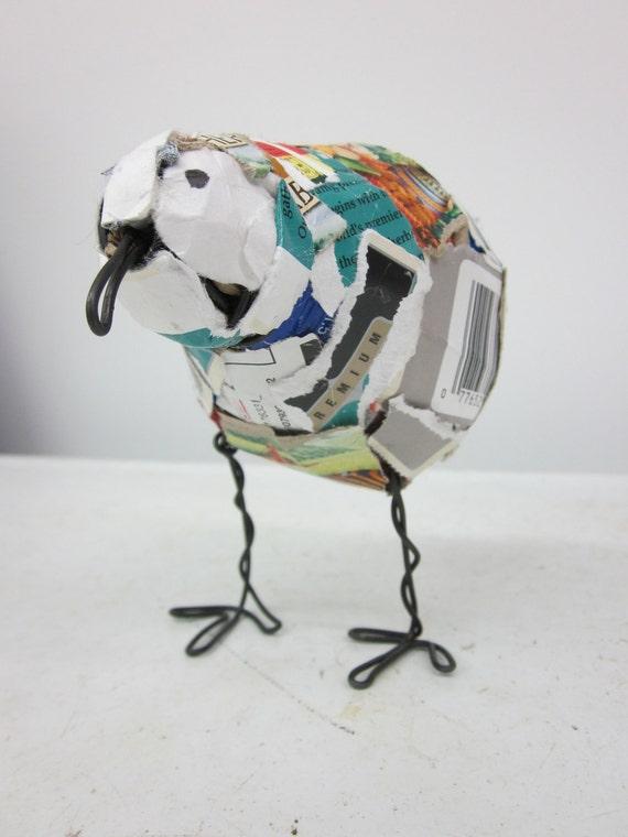Trash Bird Sculpture Six