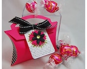 Pretty In  Pink Pillow Box