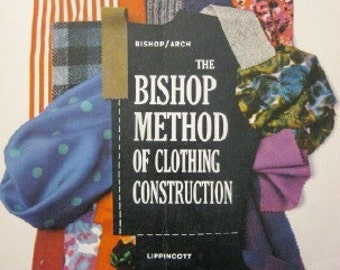 SALE - Bishop method of Clothing Construction 1959 softcover sewing book