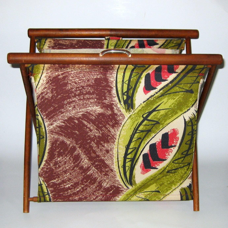 Vintage Knitting Bag : Vintage knitting bag or tote signed bagsket