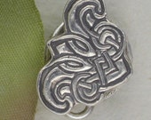 Celtic Silver Magnetic Clasp
