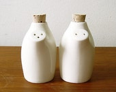 SALE - Vita Salt and Pepper Shaker Set