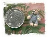 Thread Crochet Miniature 1/2 Inch Bear Pattern