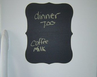 Large Chalkboard Plaque Vinyl Wall Decal
