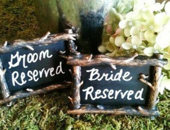 Wedding Chalkboard Love Bird Frame Set of 10 - Place ,Rustic Wedding Chalkboards, Table Numbers, FREE SHIPPING
