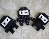 LAST ONE - Naughty Ninja Perler Bead Magnet