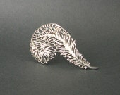 Large Feather Brooch . Sarah Coventry .