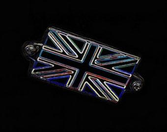 Neon Union Jack - 10x8 - Digital Art Print - British, UK, icon, flag, England, Northern Ireland, Scotland, Wales