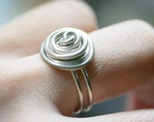 PIF spiral whirl rugged ring