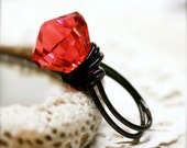 Crimson Glory wired ring