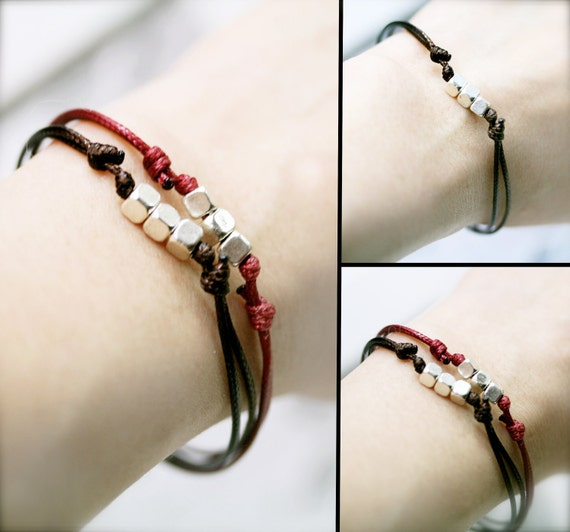 I'll be there - friendship endless bracelet x 2