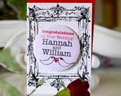 Personalised Fridge Magnet Wedding Card
