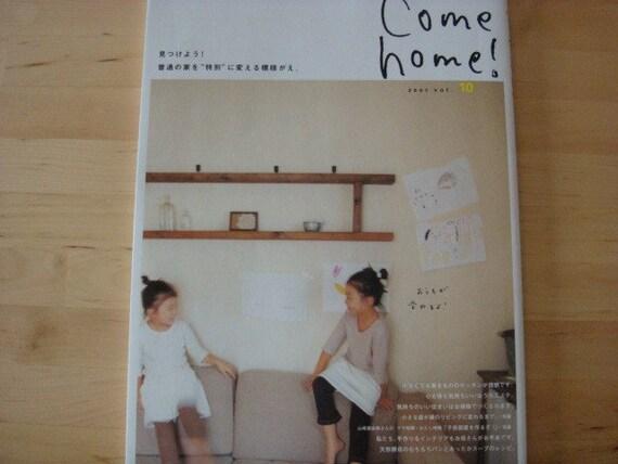 Come home Japanese magazine