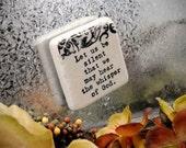 Whisper of God 2 inch Stone Tile Magnet