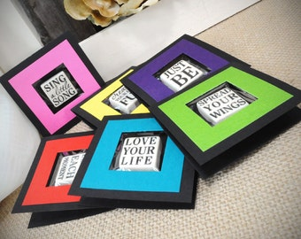 Words of Wisdom Magnet Gift Card Set of Six