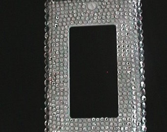 Bling Rhinestone embellished Switch Plate Cover