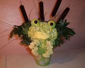 Freddy the Frog Flower Bouquet