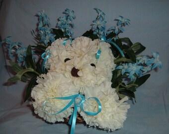 Blue Bell Puppy Bouquet