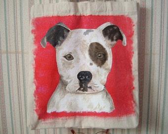 Pit Bull Terrier Tote custom order