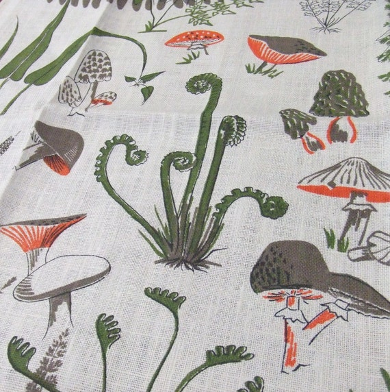 Woodland Walk Linen Towel