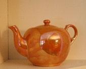 Vintage Japanese Lusterware Teapot